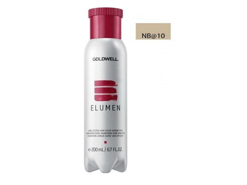 Goldwell Elumen hair color NB@10 200ml barva na vlasy