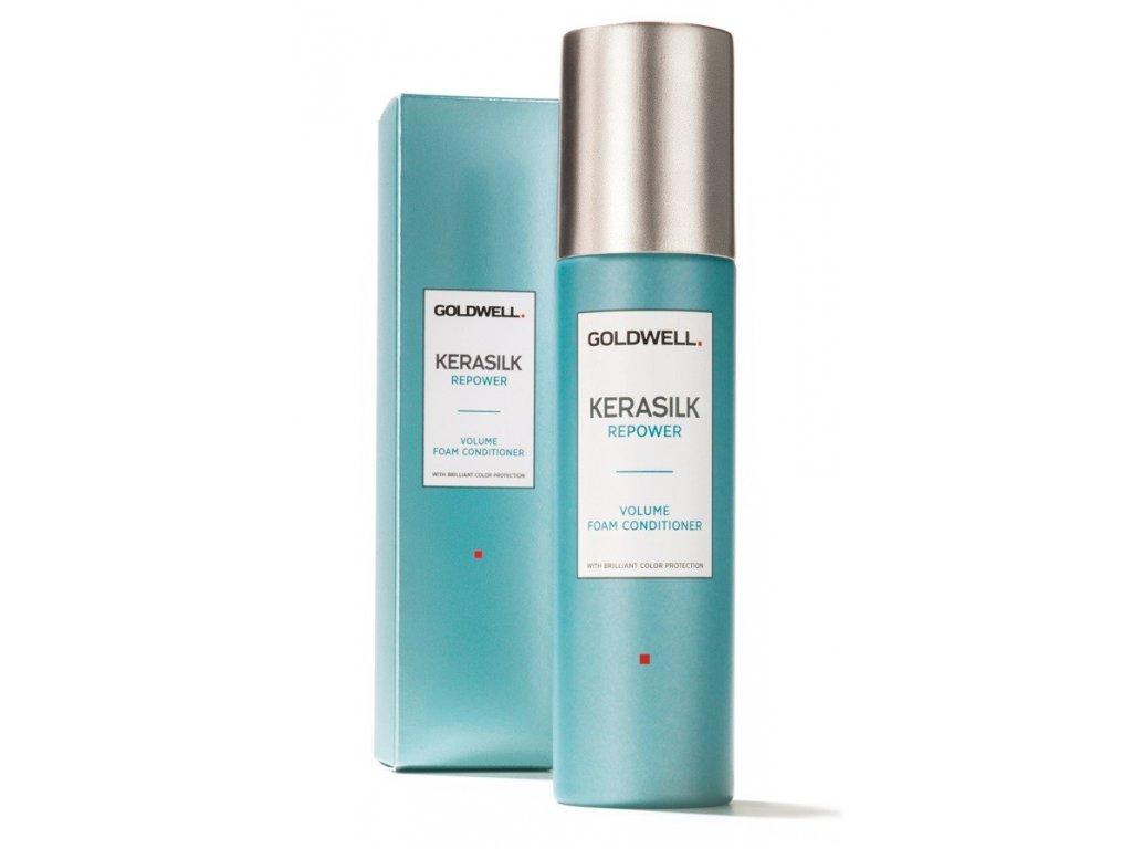 Goldwell Kerasilk Repower Volume Foam conditioner 150ml pěnový objemový kondicioner na vlasy