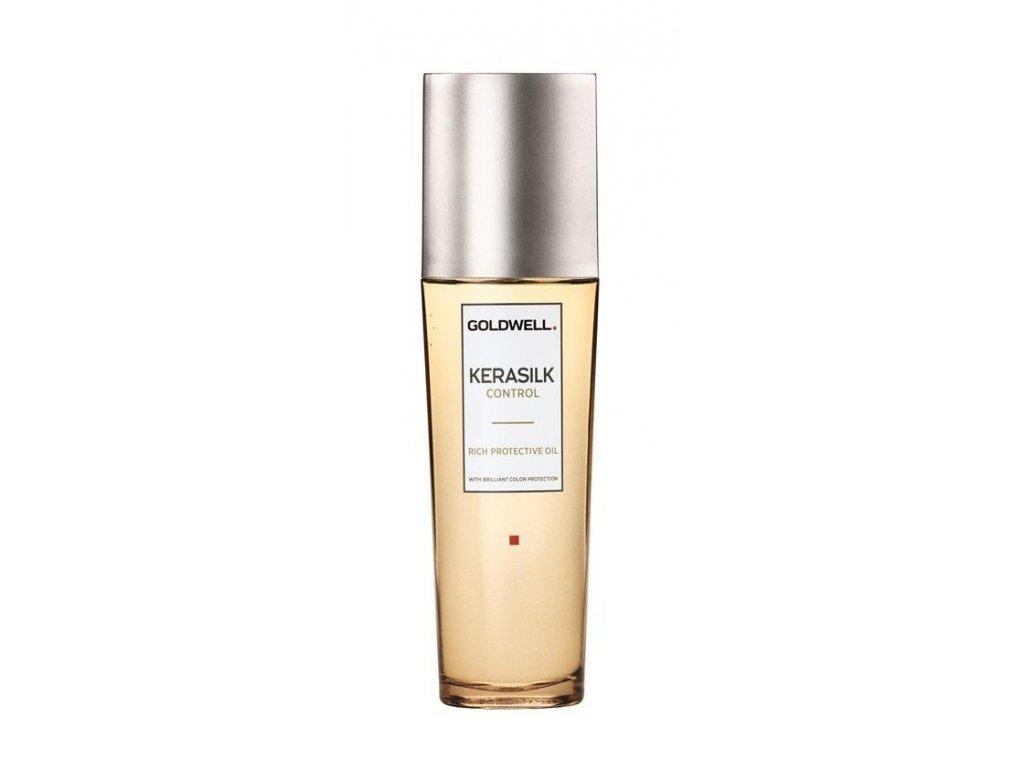 Goldwell Kerasilk Control Rich Protective Oil 75ml ochranný a uhlazující olej na vlasy