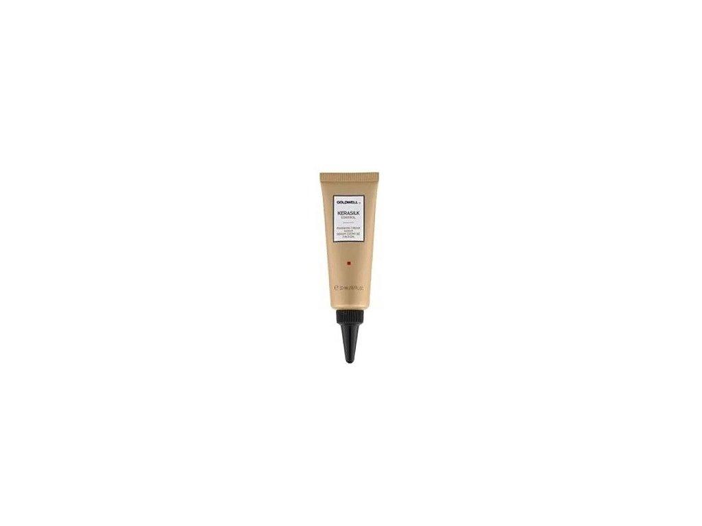 Goldwell Kerasilk Control finishing cream serum 22ml krémové sérum pro nepoddajné, hrubé a krepaté vlasy