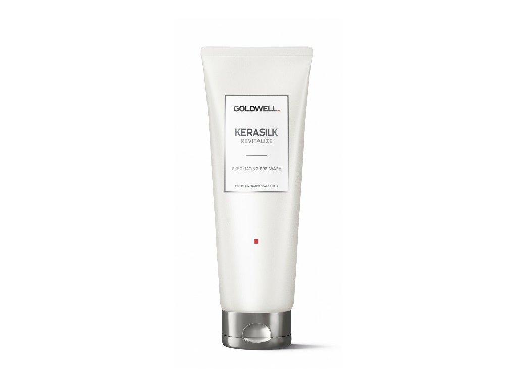 Goldwell Kerasilk Revitalize Exfoliant Pre-Wash Peeling 250ml exfoliační peeling na vlasovou pokožku