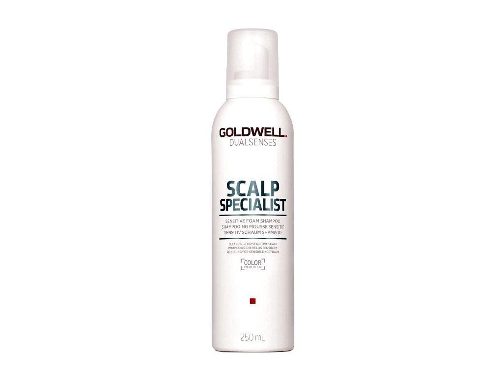dualsenses scalp specialist sensitive foam shampoo