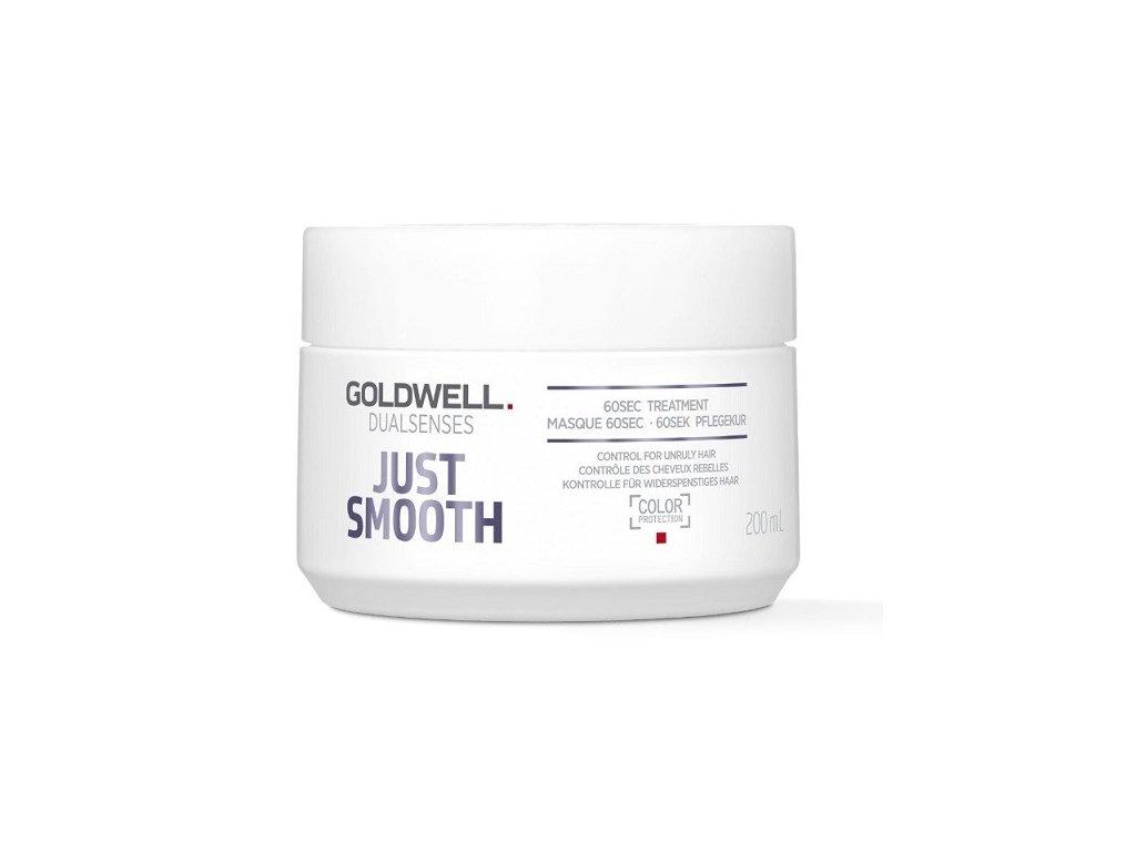 Goldwell Dualsenses Just Smooth 60sec treatment 200ml maska na vlasy