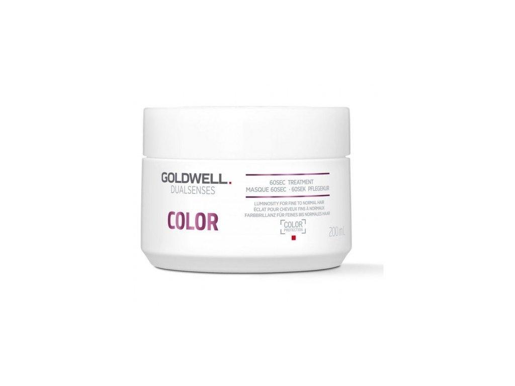Goldwell Dualsenses Color 60sec treatment 200ml maska na barvené vlasy