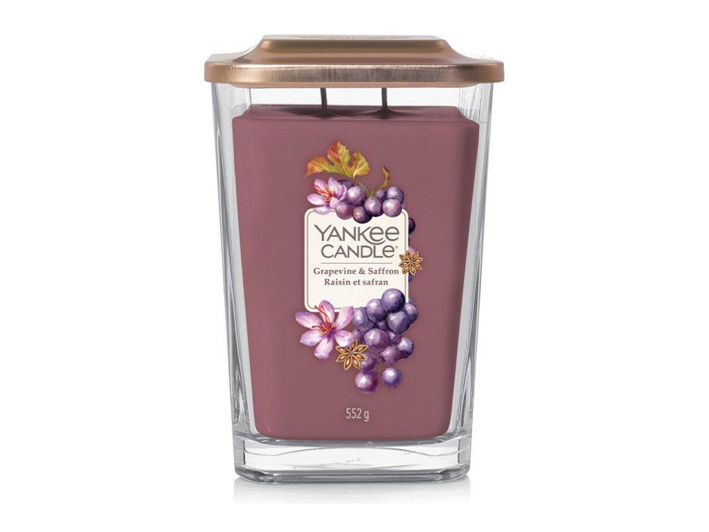 Yankee Candle Grapevine & Saffron 552g svíčka s ovocnou vůní