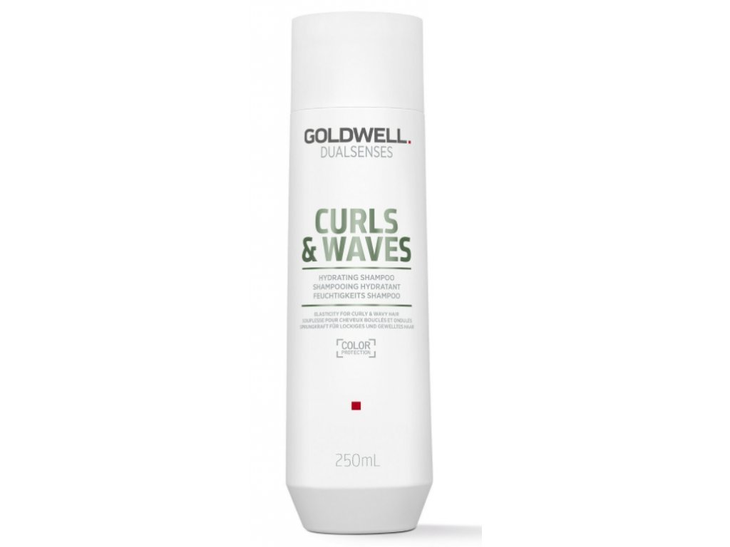 6971 goldwell dualsenses curls waves hydrating shampoo 250 ml