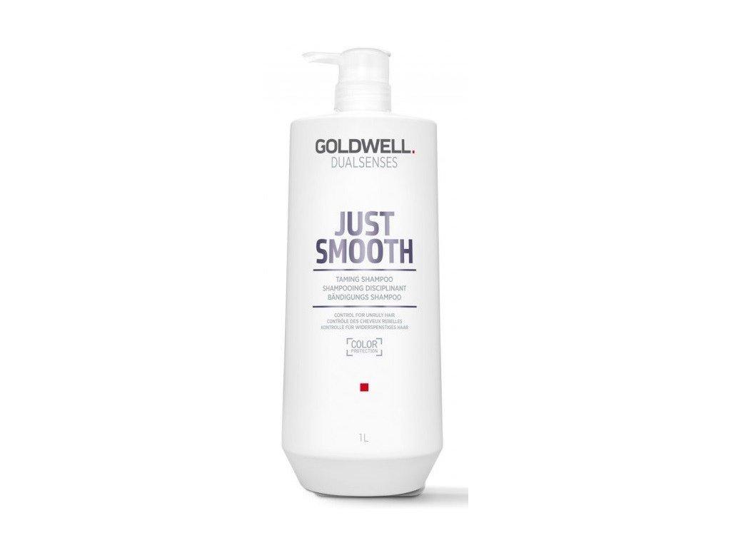 Goldwell Dualsenses Just Smooth Taming shampoo 1000ml hydratační šampon