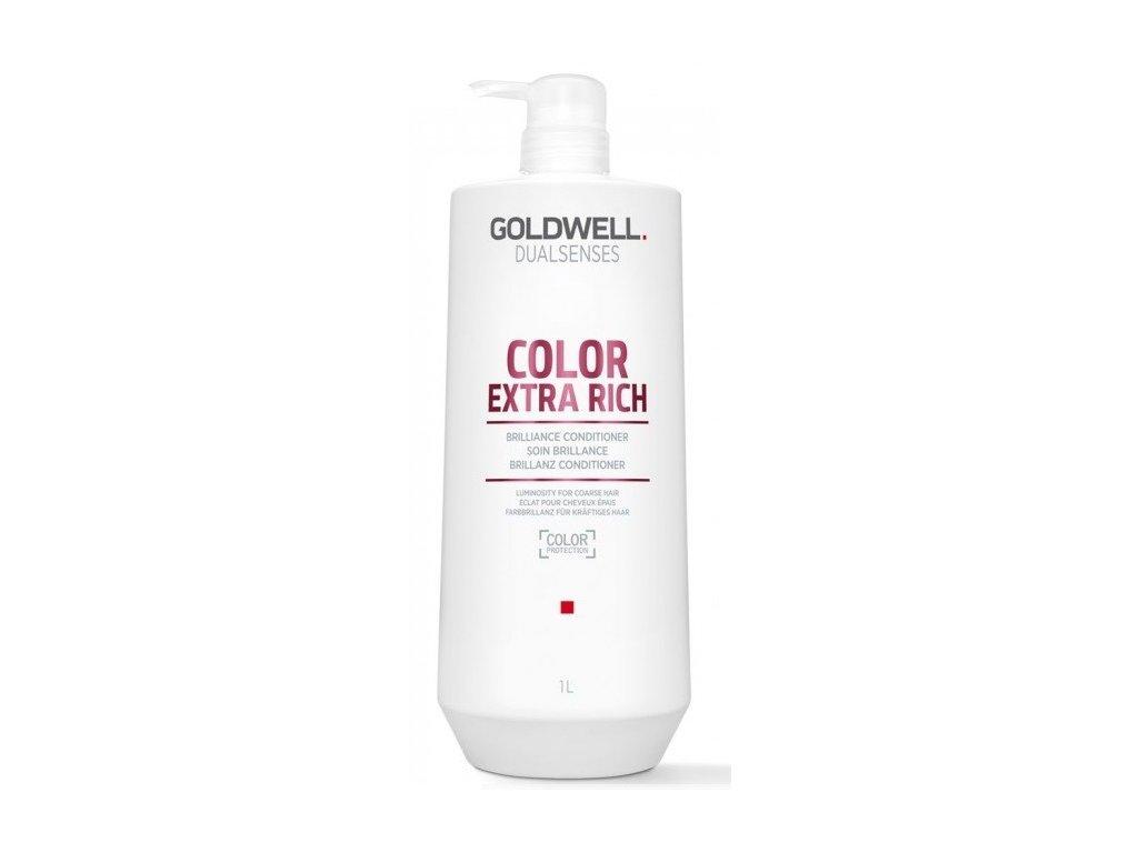 Goldwell Dualsenses Color Extra Rich brilliance conditioner 1000ml kondicioner pro barvené , odolné a porézní vlasy
