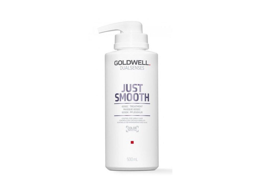 Goldwell Dualsenses Just Smooth 60sec treatment 500ml maska na vlasy