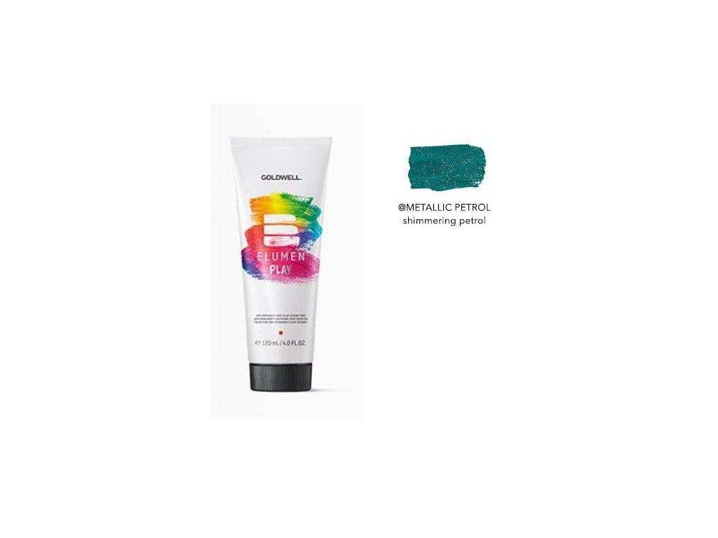 Elumen Play METALLIC PETROL 120ml semi-permanentní barva
