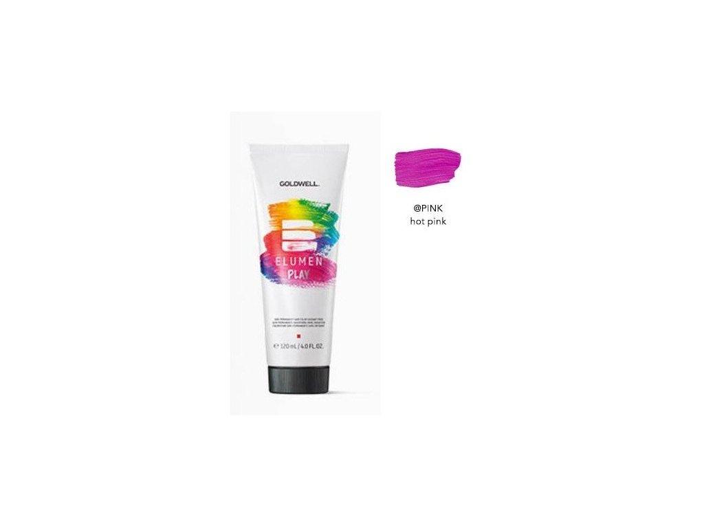 Elumen Play PINK 120ml semi-permanentní barva