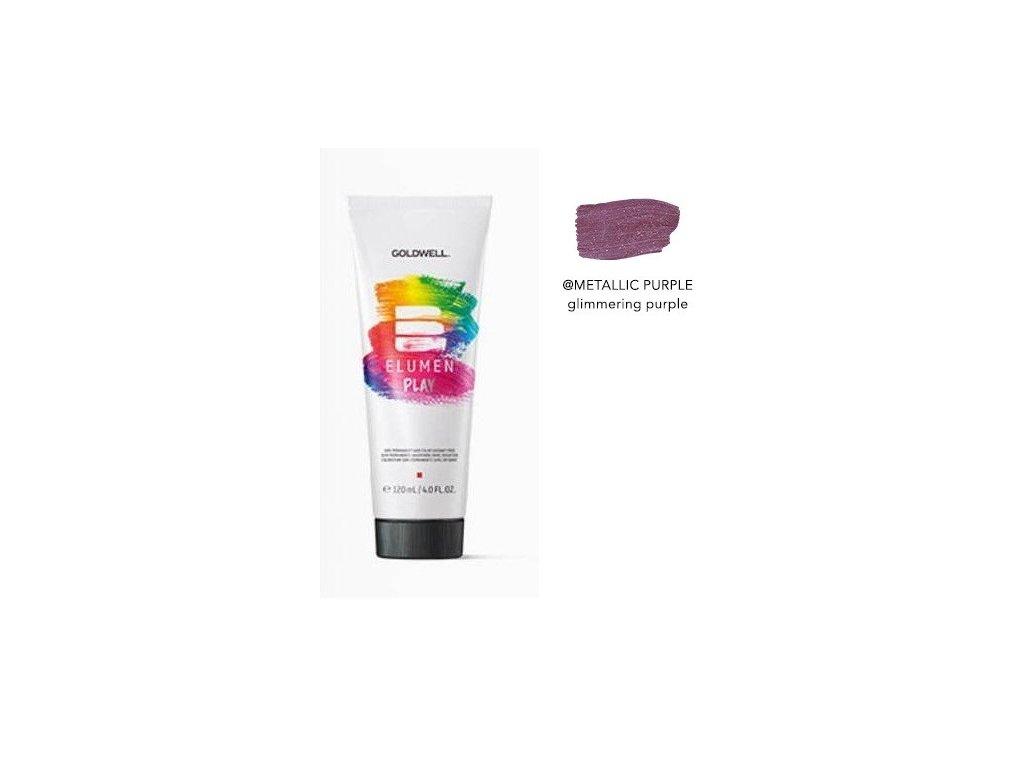 Elumen Play METALLIC PURPLE 120ml semi-permanentní barva