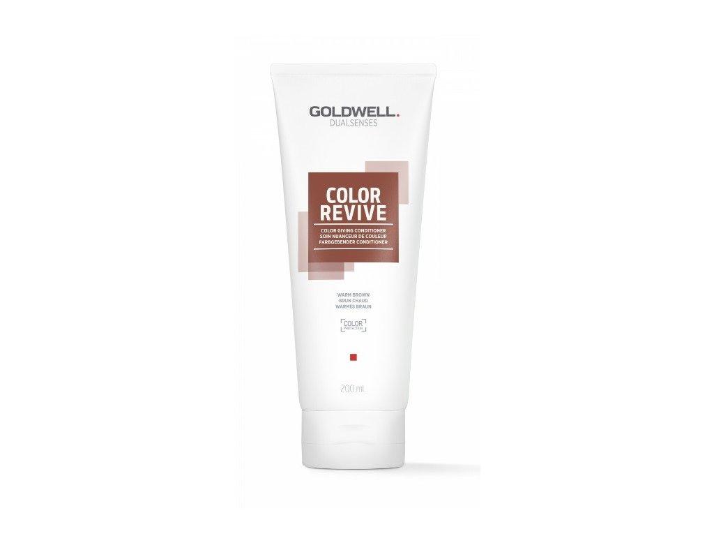 Goldwell Dualsenses Color Revive giving conditioner WARM BROWN 200ml kondicioner osvěžující barvu vlasů