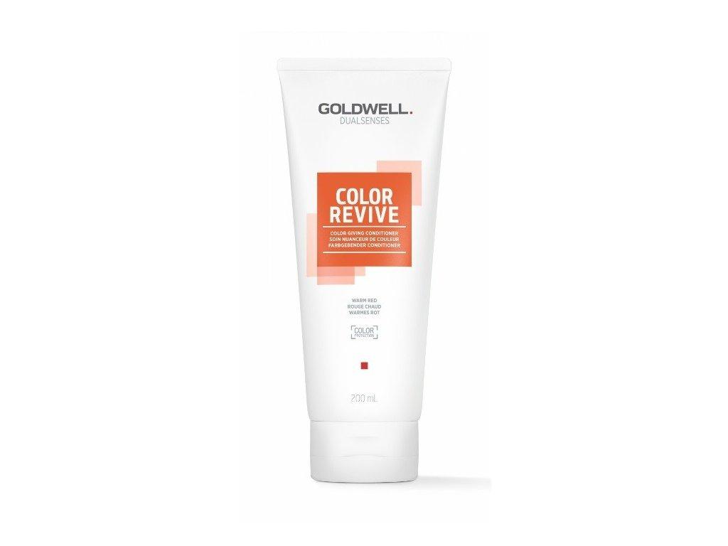 Goldwell Dualsenses Color Revive giving conditioner WARM RED 200ml kondicioner osvěžující barvu vlasů
