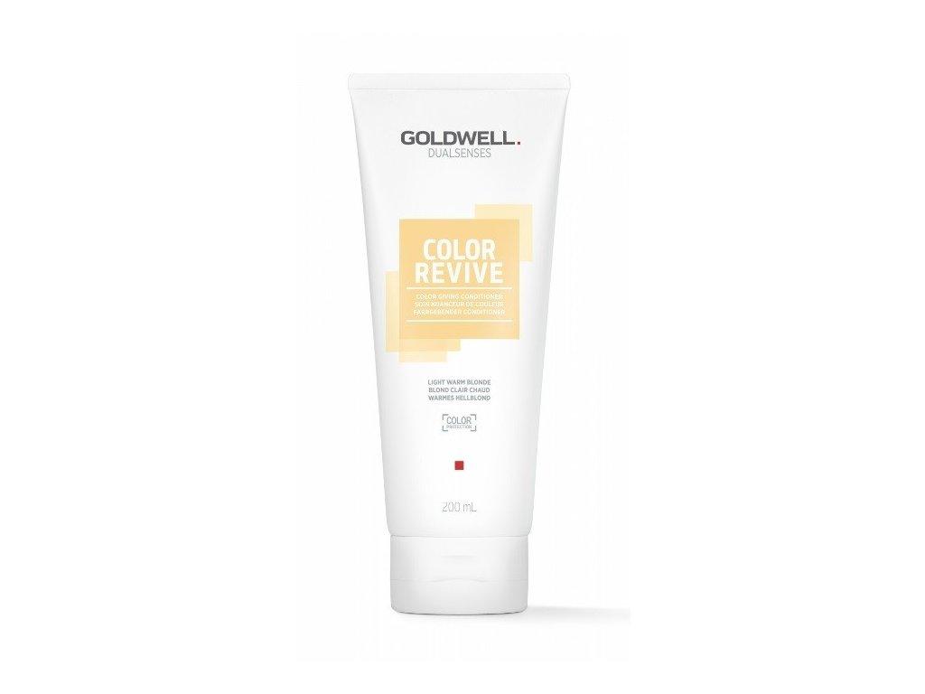 Goldwell Dualsenses Color Revive giving conditioner LIGHT WARM BLONDE 200ml kondicioner osvěžující barvu vlasů