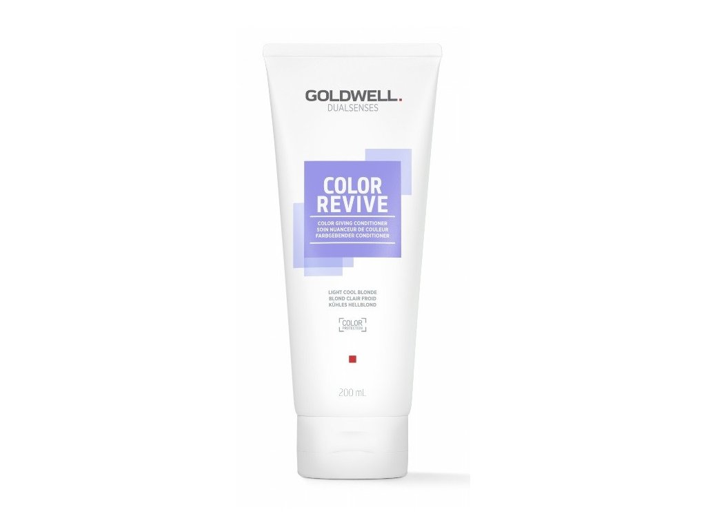 Goldwell Dualsenses Color Revive giving conditioner LIGHT COOL BLONDE 200ml kondicioner osvěžující barvu vlasů