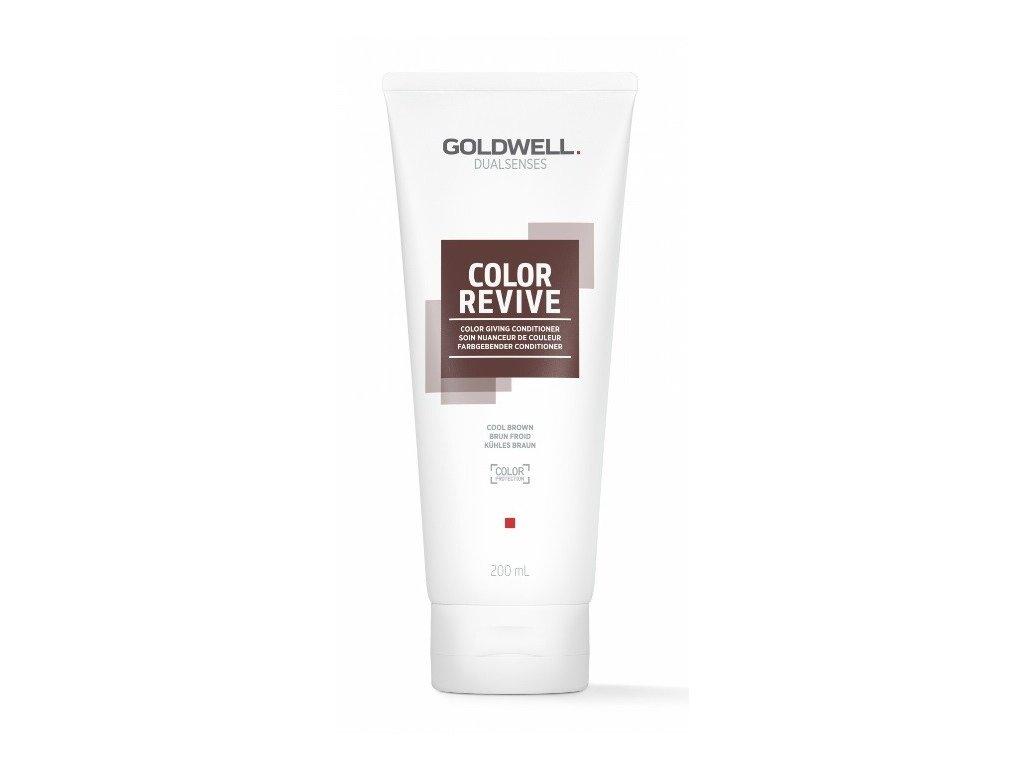 Goldwell Dualsenses Color Revive giving conditioner COOL BROWN 200ml kondicioner osvěžující barvu vlasů