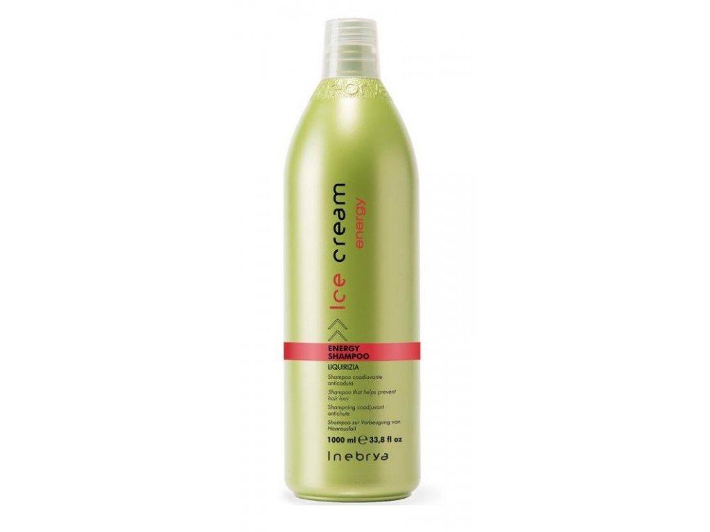 Inebrya Energy Shampoo 1000ml proti padání vlasů