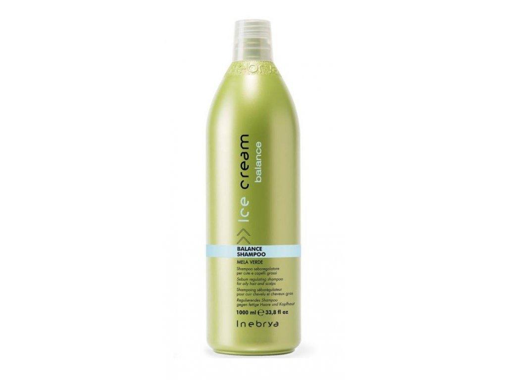 Inebrya Balance shampoo 1000ml na mastné vlasy