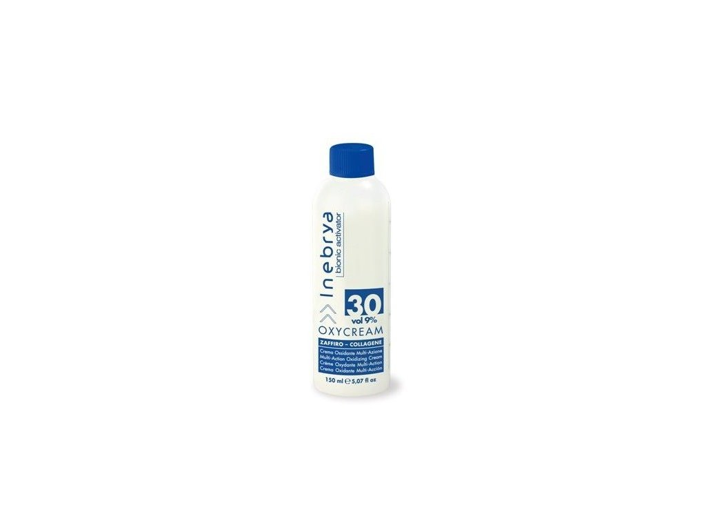 Inebrya Oxycream bionic activator 30 vol 9% 150ml oxidační krém