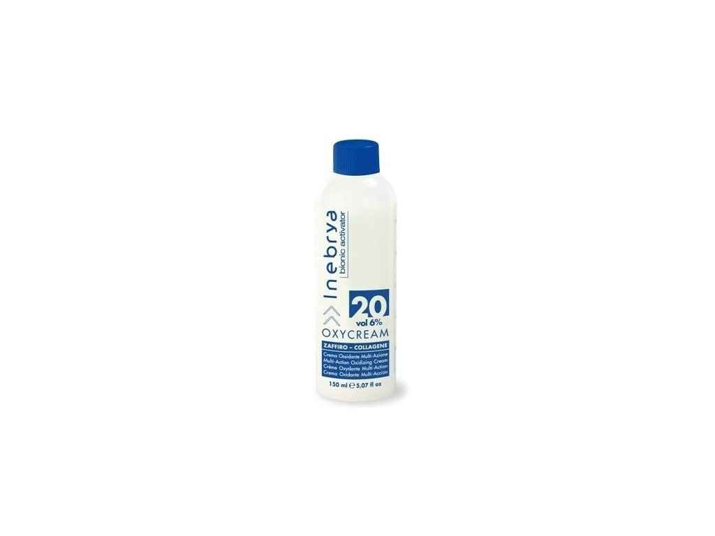 Inebrya Oxycream bionic activator 20 vol 6% 150ml oxidační krém