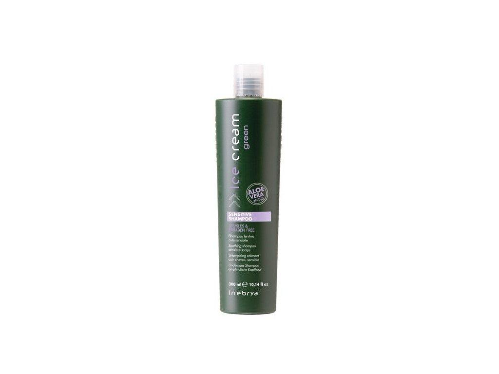 Inebrya Green Sensitive shampoo 300ml šampon na citlivou pokožku