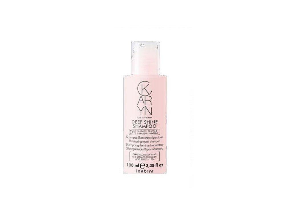 Inebrya Karyn Deep Shine shampoo 100ml regenerační šampon pro vlasy bez lesku