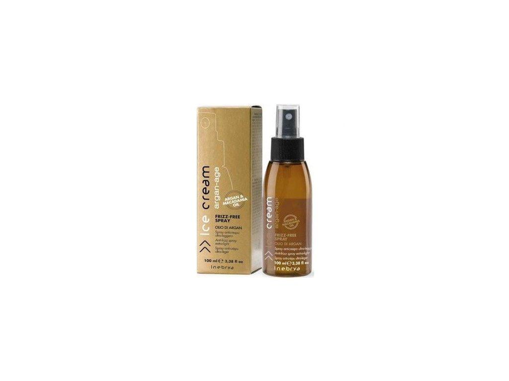 Inebrya Argan-Age Frizz-Free spray 100ml vyživující sprej na vlasy s arganovým olejem
