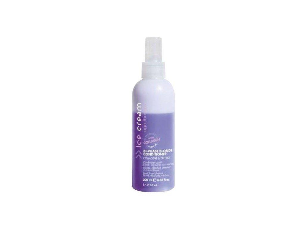 Inebrya Keratin Bi-phase Blonde conditioner 200ml bezoplachový kondicioner