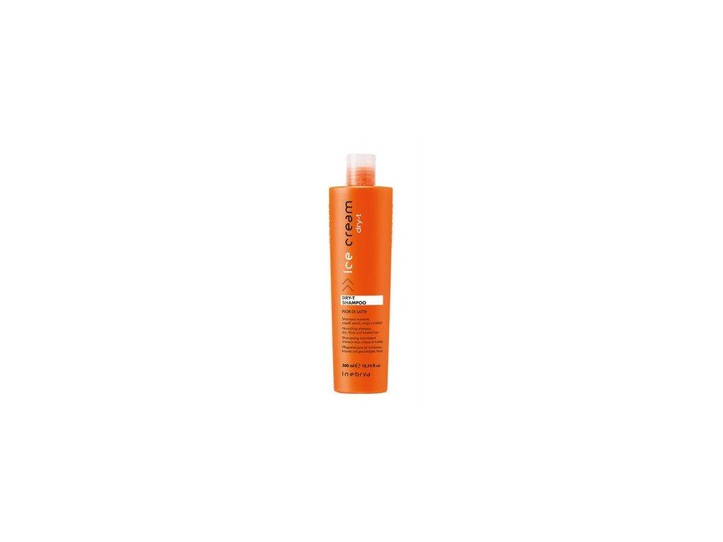 Inebrya Dry-T shampoo 300ml pro suché a poškozené vlasy