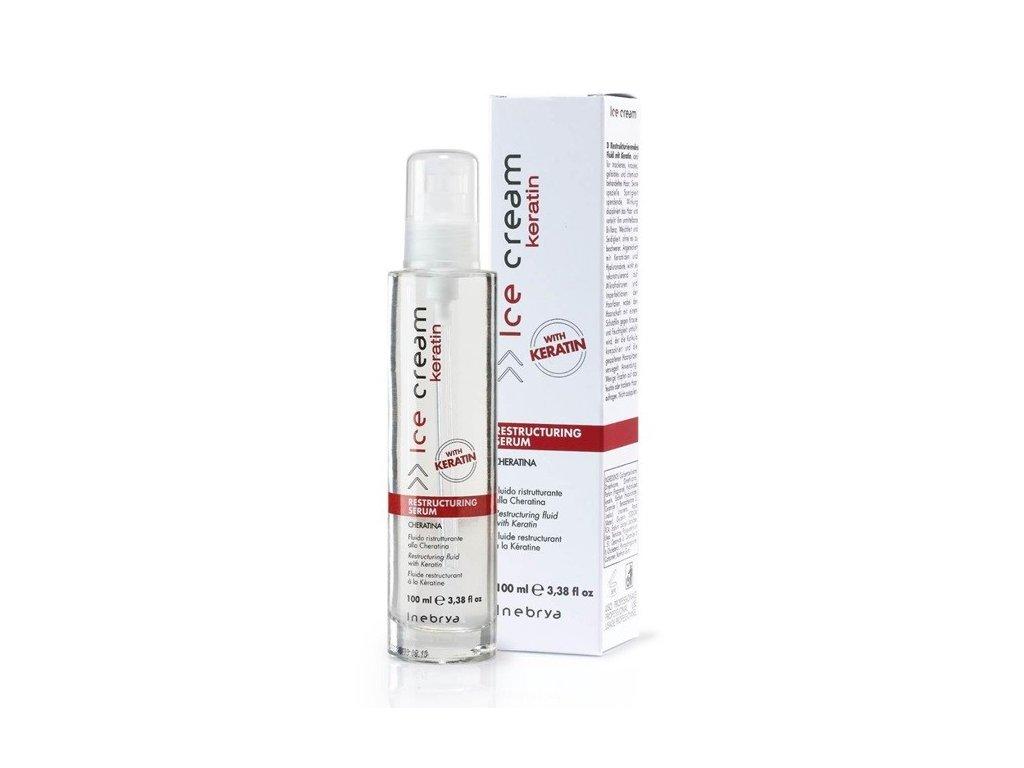 Inebrya Restructuring Keratin serum 100ml eratinové sérum na vlasy