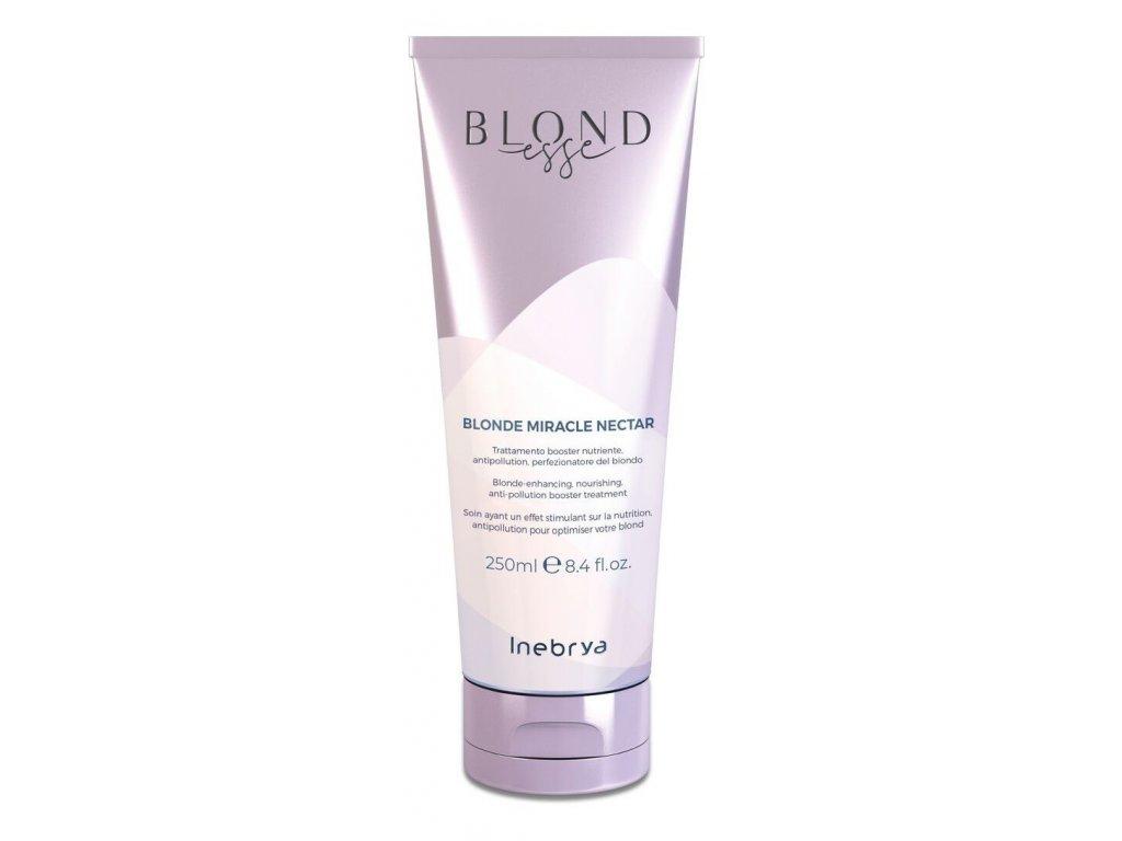 Inebrya BLONDesse Blonde nectar 250ml treatment pro blond, šedivé a melírované vlasy