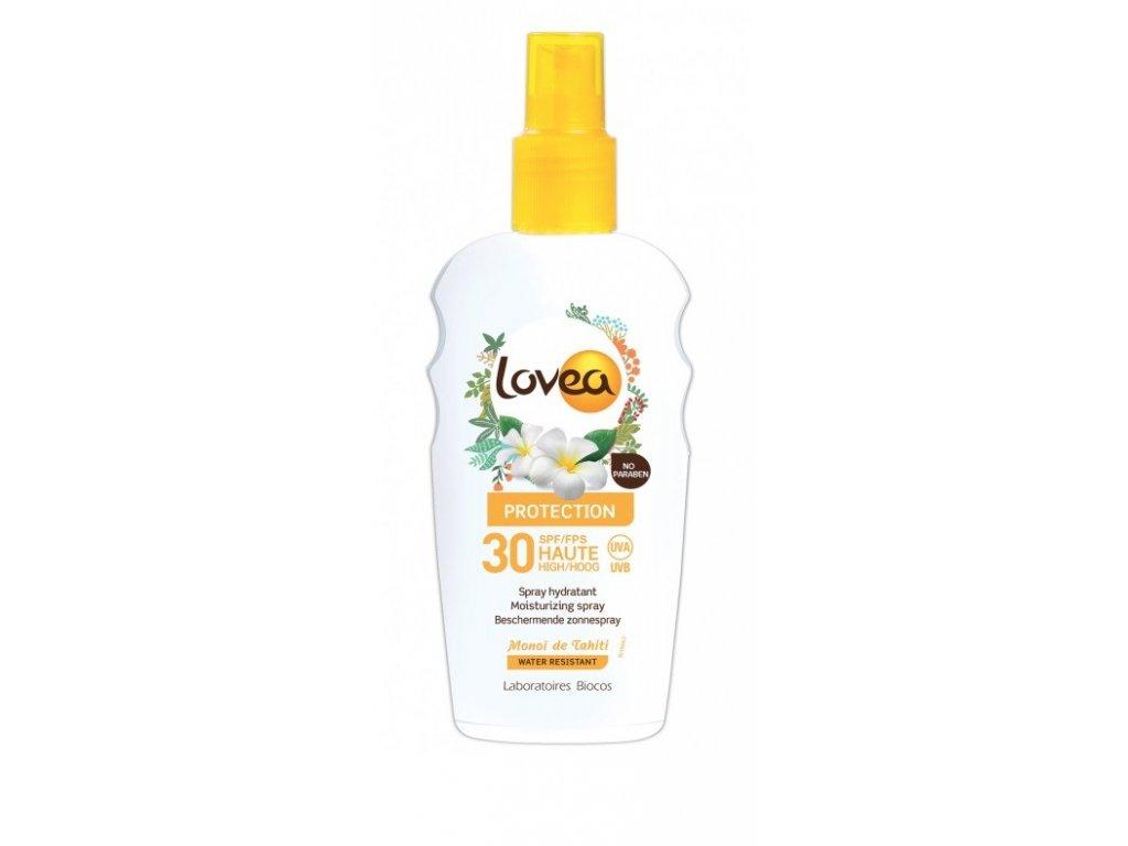 Lovea SUN Protection 30 Spray hydratant 200ml hydratační sprej na opalování voděodolný