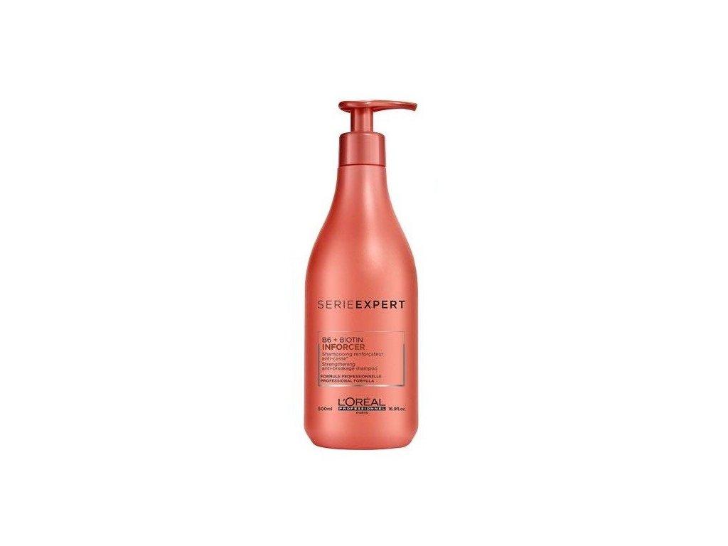 L'Oréal Professionnel Serie Expert Inforcer šampon 500ml pro křehké vlasy