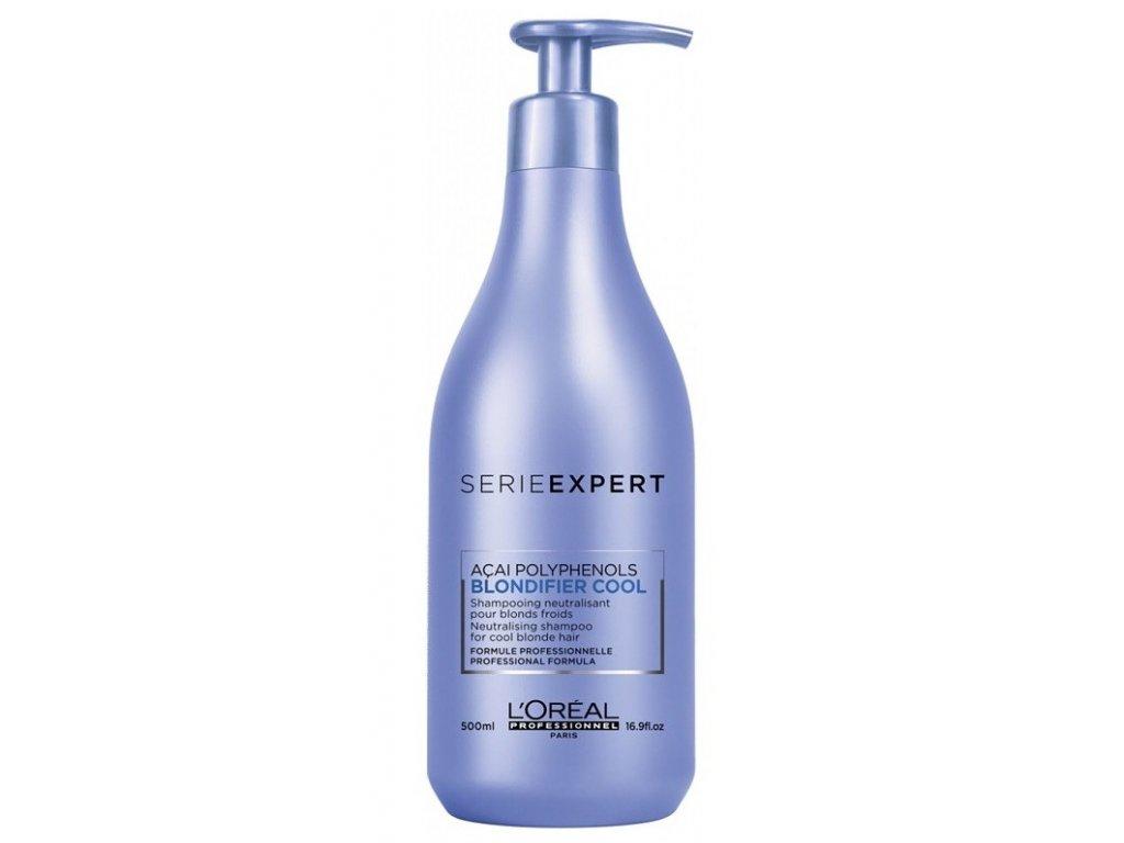 L'Oréal Professionnel Expert Blondifier Cool shampoo 500ml šampon na blond a bílé vlasy