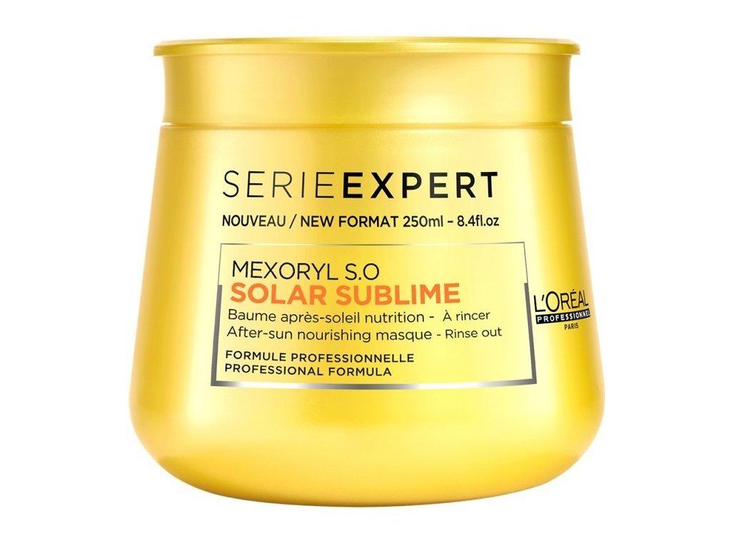 ĽOréal Professionnel Solar Sublime Maxoril s.o mask 250ml maska pro vlasy namáhané sluncem