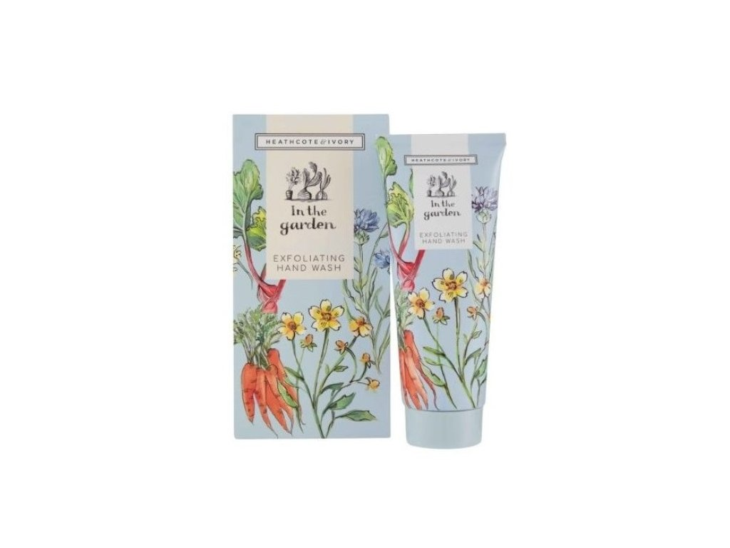 heathcote ivory in the garden exfoliating hand wash 100ml