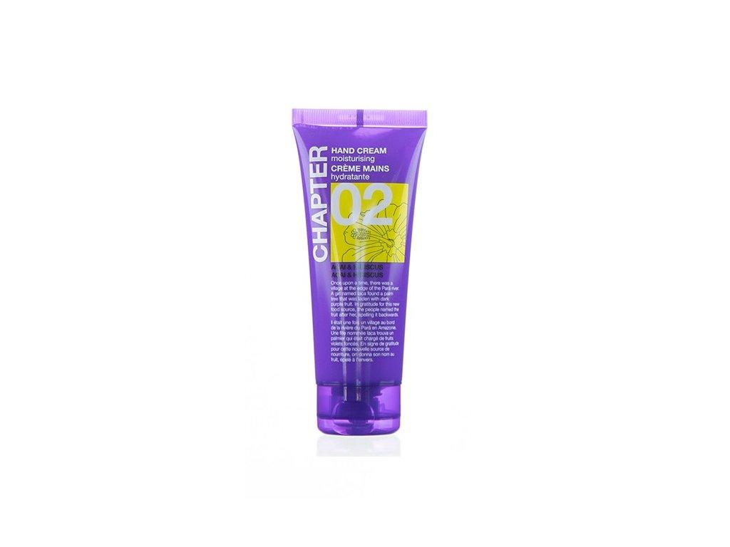 chapter 02 bath hand cream acai hibiscus 100ml
