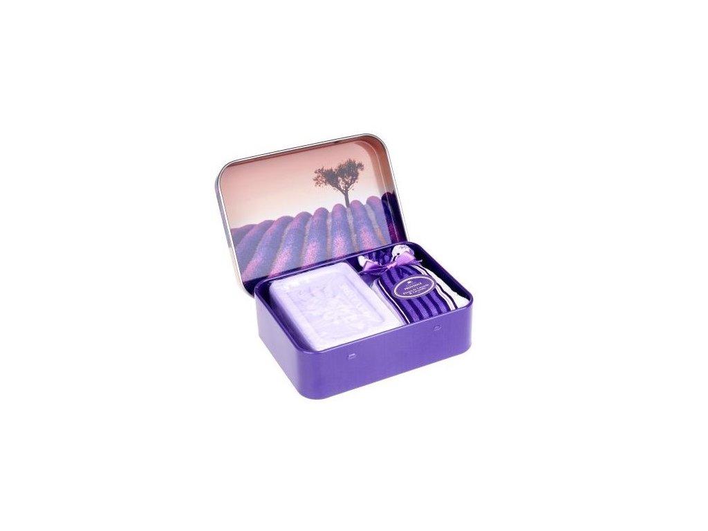 esprit provence mydlo levandule strom pytlicek plech 60g
