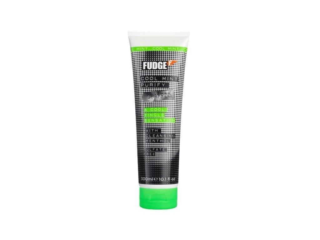 FUDGE Cool Mint Purify shampoo 250ml šampon na podporu ozdravení vlasů