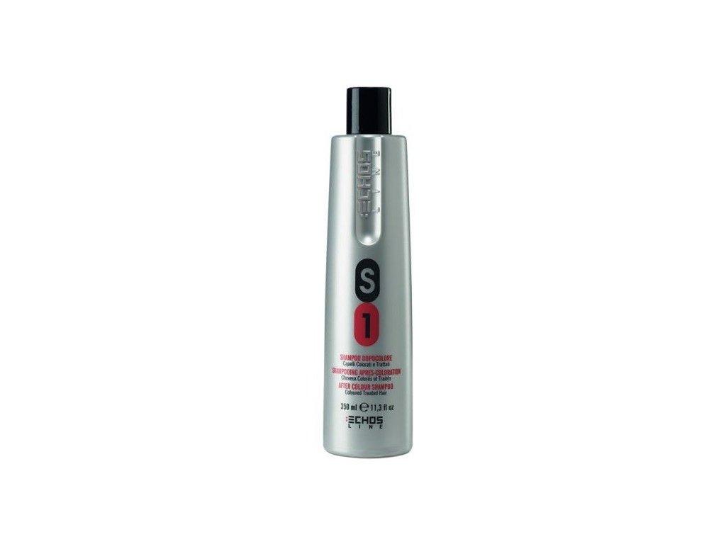 Echosline After Colour shampoo S1 350ml šampon na vlasy po barvení