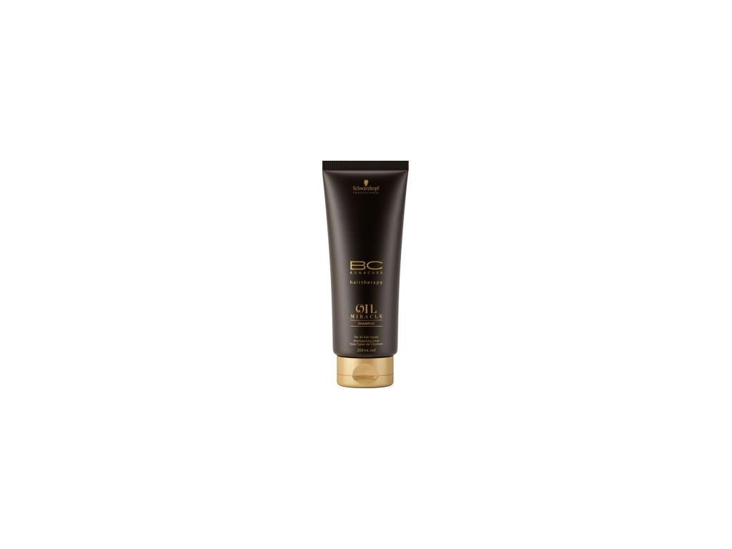 Schwarzkopf Bc Oil Miracle Shampoo 200ml pečující šampon s arganem