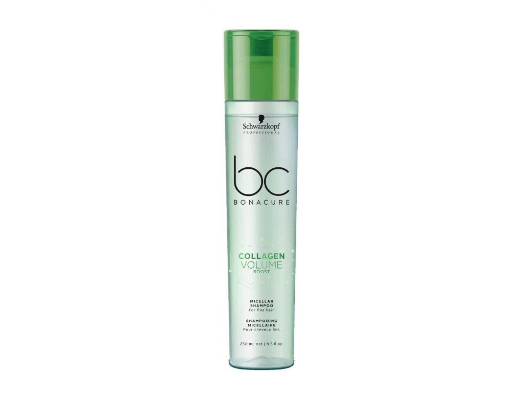 Schwarzkopf BC Bonacure Collagen Volume Boost shampoo 250ml micelární šampon na jemné vlasy