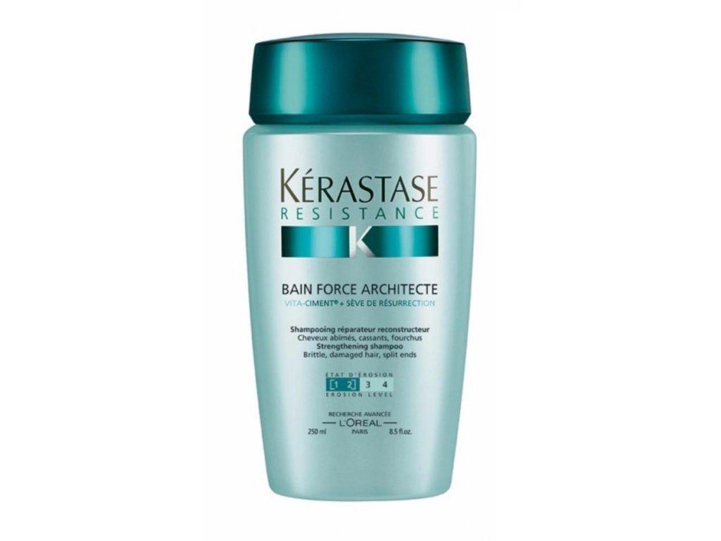 Kérastase Resistance Bain Force Architecte Shampoo 250ml šampon na poškozené vlasy