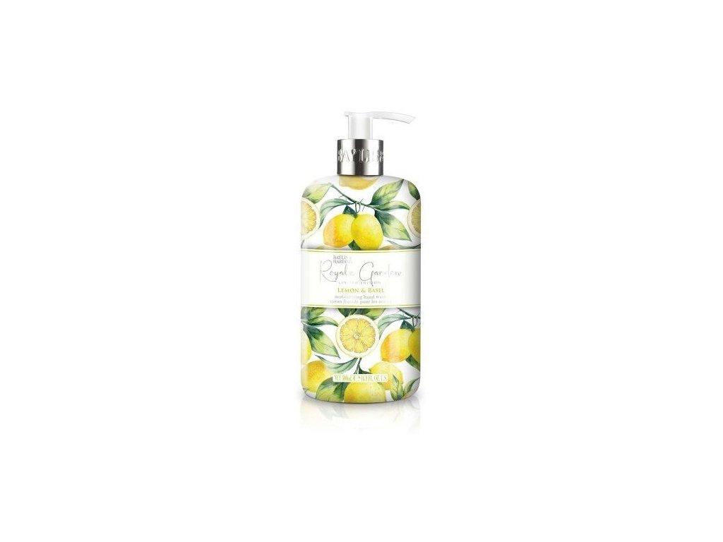 Baylis & Harding Royale Garden hand wash Lemon & Basil tekuté mýdlo 500ml