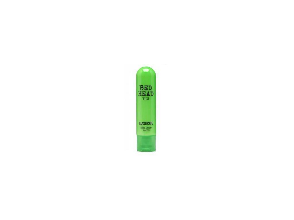 Tigi Bed Head Elasticate Strengthening shampoo 250ml šampon na křehké a lámavé vlasy