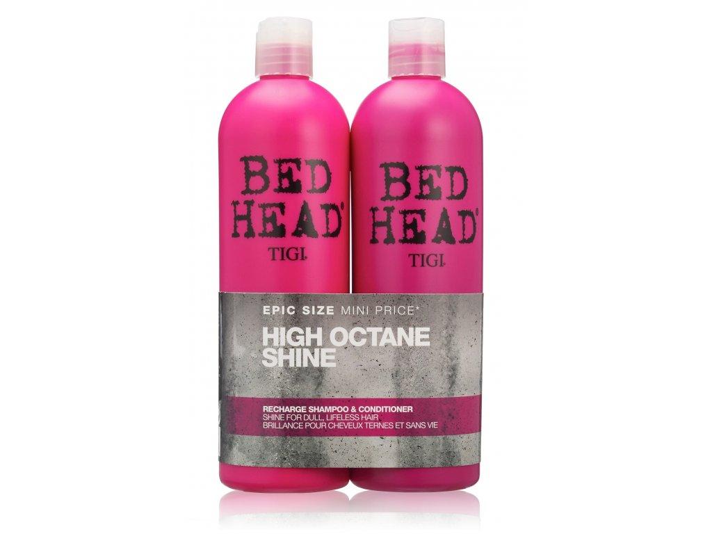 Tigi Bed Head Recharge High Octane Shine set 2x750ml