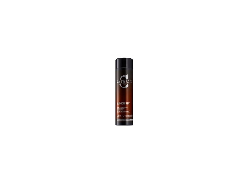 Tigi Catwalk Fashionista brunette conditioner 250ml kondicioner na tmavé vlasy