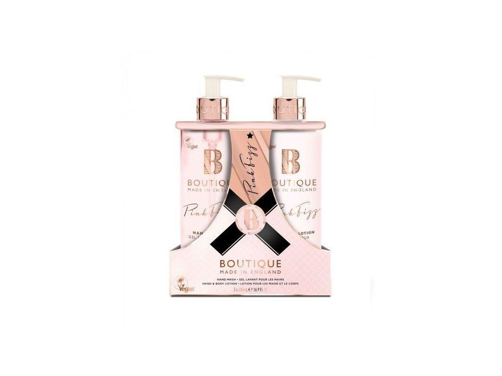 Grace Cole Boutique dárková sada péče o ruce Pink Fizz 2x500ml