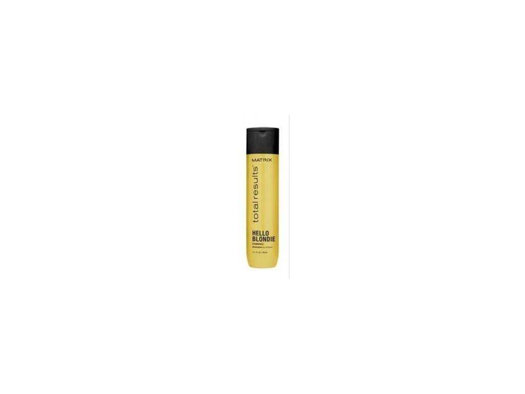 Matrix Total Results Hello Blondie Shampoo 300ml šampon pro blond vlasy